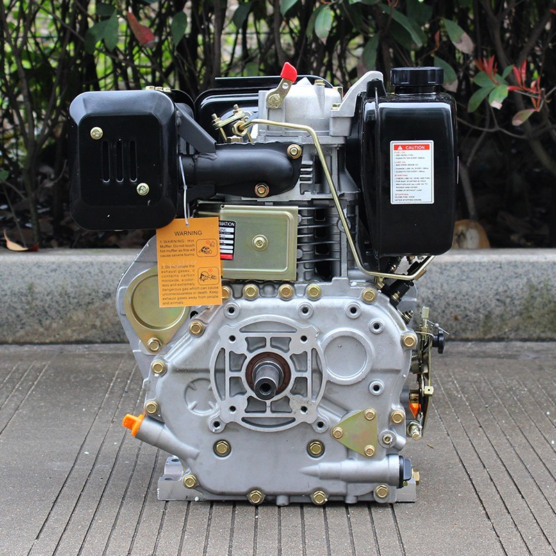BISON(CHINA) 6.5 hp air cooled portable diesel oil engine for home use