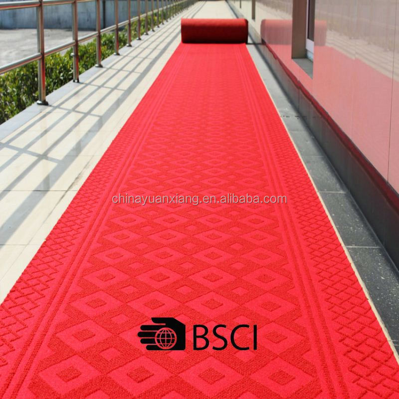 Non-Skid Top China Wedding Aisle Runner