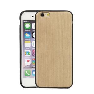 Laser Engrave Custom Design Logo Cheap Wood Phone Case for iPhone 5 for iPhone 6 plus