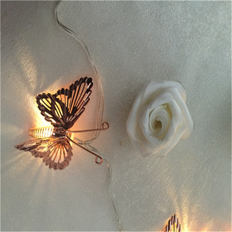 Top Sale Butterfly Battery Lights Holiday Time Lights Wholesale Christmas Garland