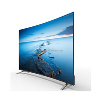 TV LED 4K Curve smart 42 55 65 inches TV
