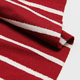 6A012 100 cotton 40s yarn dyed cotton knitting fabric lycra spandex fabric striped for ladies dress pajiama sport t shirt clo