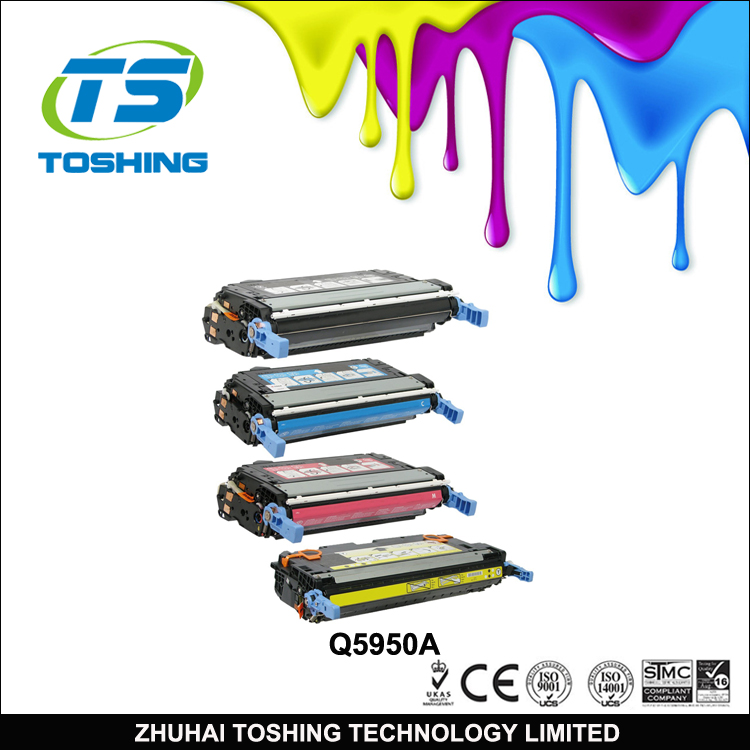 Compatible toner cartridge for HP 643A laser printer