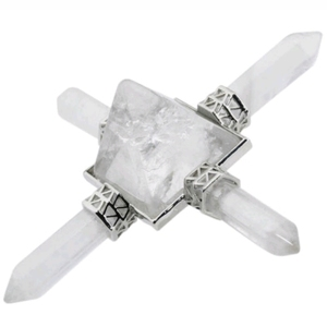 Wholesale White Energy generators crystal quartz pyramids