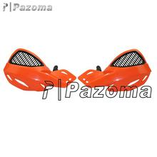 Pazoma Orange Off Road Dirt Bike Scooter ATV MX Motocross Motorcycle Hand Guards Handguards