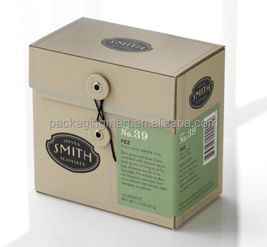 N997 Gorgeous Foldable Tea Package Box Hot Sale Eco