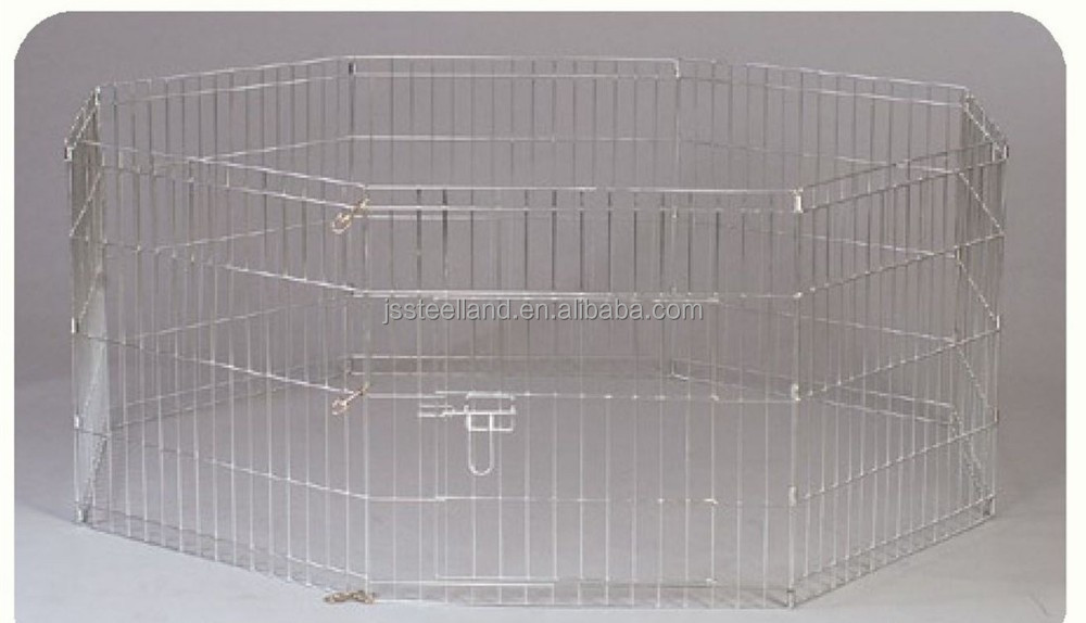 2015 wire metal dog playpen dog crate pet playpen