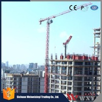 China supplier 1.6*1.6*3m or 2*2*3m Standard mast tower crane 10 ton topless