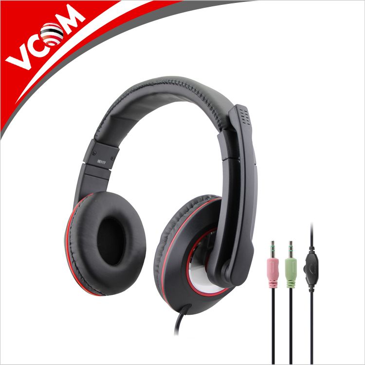 Hot Selling Wired Adjustable Microphone PC Headset Factory Price