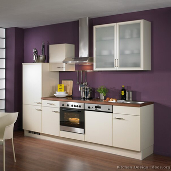 Spani Kitchen One Line Inside Handle Low Price Paint Lacquer Piano Paint  Door Melamine Korean American Kitchen Cabinet,Kitchen - Buy Prefabricated  ...