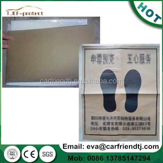 Car Disposable Foot Matsfloor Mat Paper Or Pe Material For Car