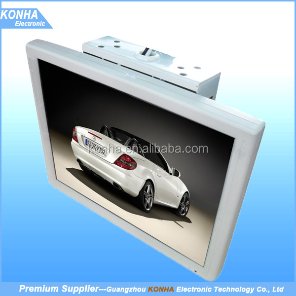 Fixing Mounted Bus Car 17 inch LCD LED Monitor Bus TV Full HD Display for sale
