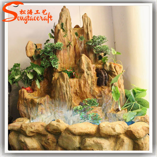 resin indoor fountains and waterfalls waterscape decorative indoor water fountain home decoration fountain - Fountain For Home Decoration