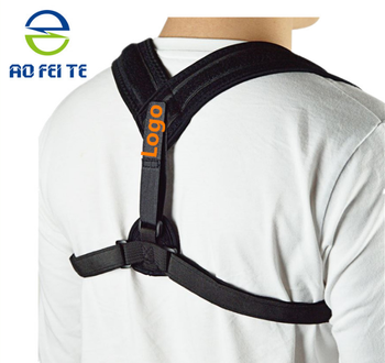 New products adjustable posture corrector shoulder support belt neoprene figure upper back brace posture corrector