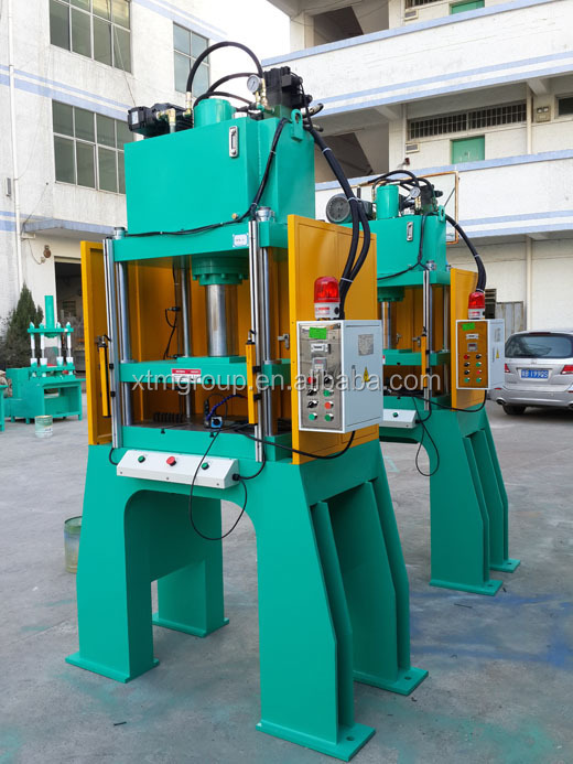 Latest Design High Speed Dual Cylinder Trim Press for Pot