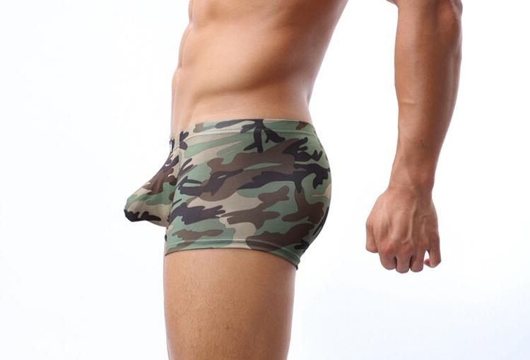 Wholesale Cockcon Full Printed Underwear Camouflage Underwear Men ...
