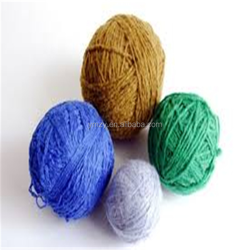 wholesale 50% wool 50% acrylic yarn, super grade recycled yarn
