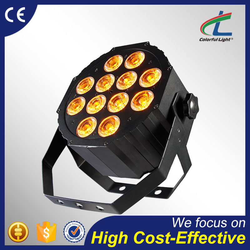 factory direct dmx controller 12pcs 15w 5in1 RGBWA indoor party led par can light