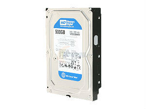 WD 500GB SATA/16MB Cache Blue