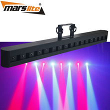 2017 guanzhou hot sell 6X3W RGBW LED beam bar stage lighting for party music show with high quality