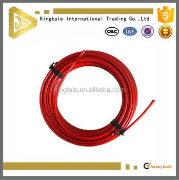 Kingtale Outstanding Corrosion Resistance Red Plastic Coated ...
