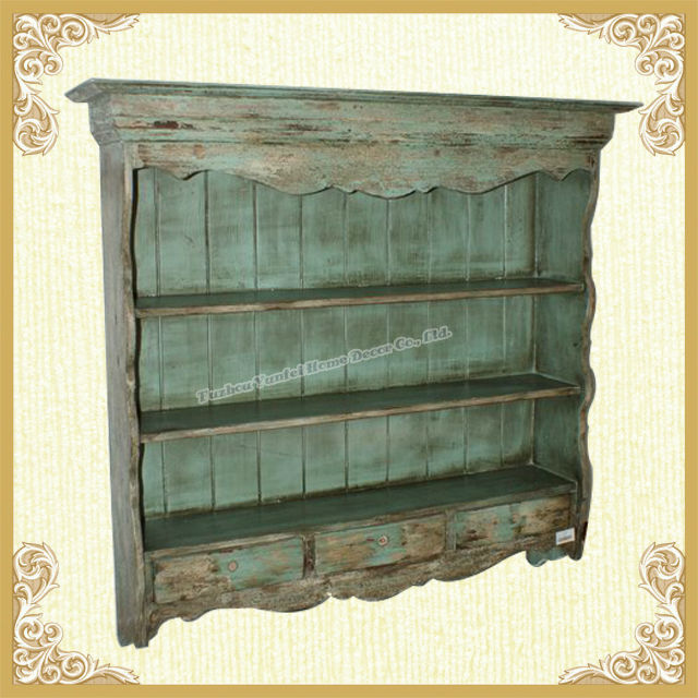 french country style wooden wall shelves with drawers yf035 buy rh alibaba com french style floating shelves french style corner shelves