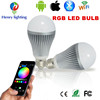 16 Colors Changing RGB Led Light Bulb Wireless Wifi Bluetooth Rgb Led Bulb Control Led Wifi Light Bulb With High Quality