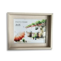 Wooden Shadow Box Photo Frame Wall Home Decor