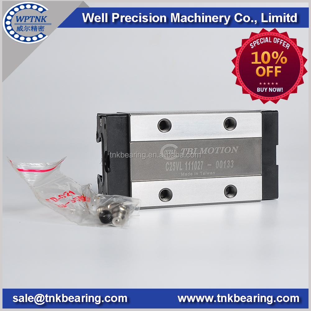 Direct factory price linear rail TRC25VL,linear ball slide C25VL ,NSK linear TR25*1000mm for CNC Machinery