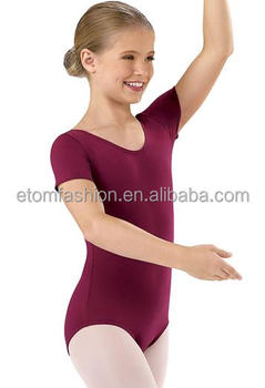 Short Sleeves Ballet Clothes for Girls DL1810C