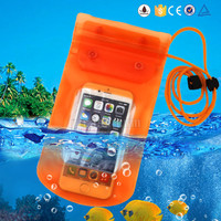 Hot new promotional product waterproof bag for mobile phone , pvc phone waterproof pouch