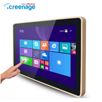 Factory price 21.5 inch super thin lcd monitor/tv screen for security use