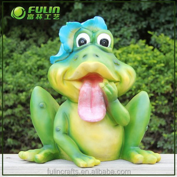 Outdoor Garden Frog Ornaments