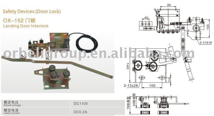 Elevator Safety Parts (landing Door Interlock) - Buy Door LockDoor Handle LockSliding Door Lock Product on Alibaba.com  sc 1 st  Alibaba & Elevator Safety Parts (landing Door Interlock) - Buy Door LockDoor ...