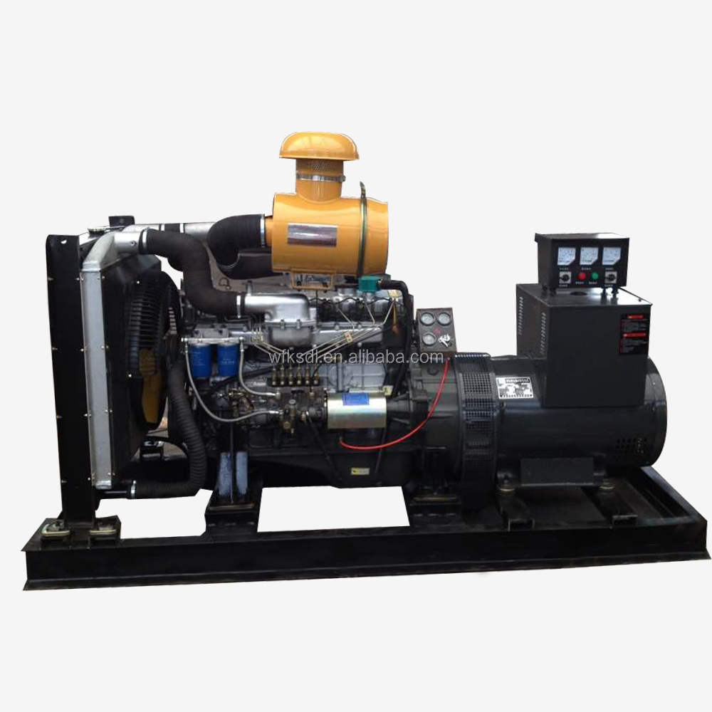 hot sale china made 6-cylinder 60 kw diesel generator R6105ZD