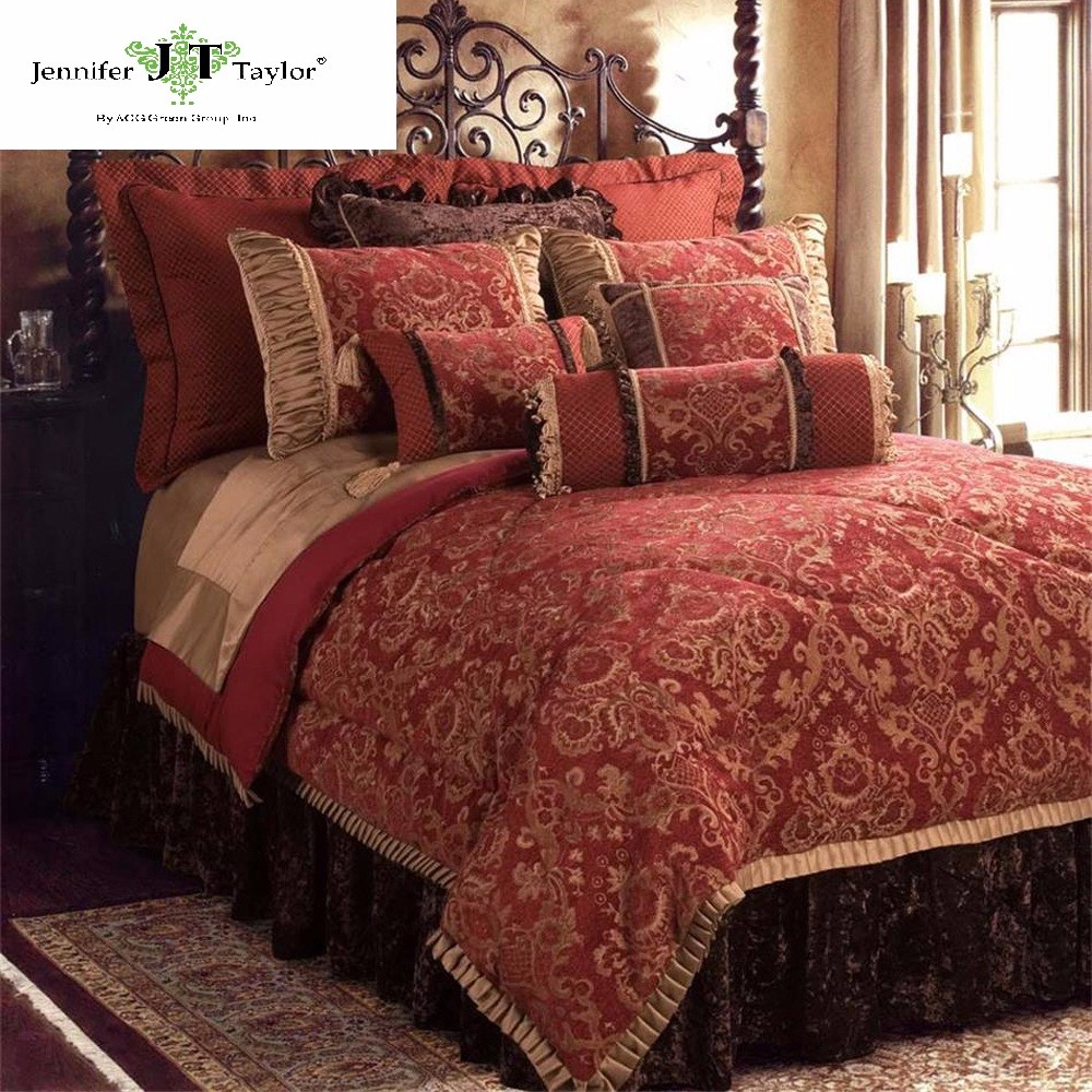 Red Luxury Bedding Sets