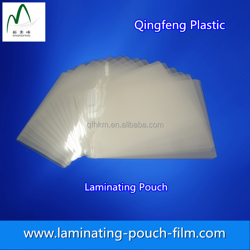 3mil Glossy Pressure Sensitive Lamination Film 61&quot