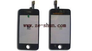mobile phone touch screen for iphone 3Gs black