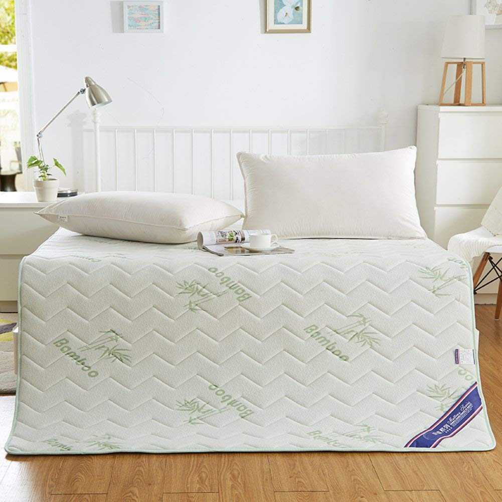 Summer Mattress, Ultra-Thin Cool Breathable Skin-Friendly Mat Non-Slip Insulation Memory Cotton Pad-A 180x200cm(71x79inch)