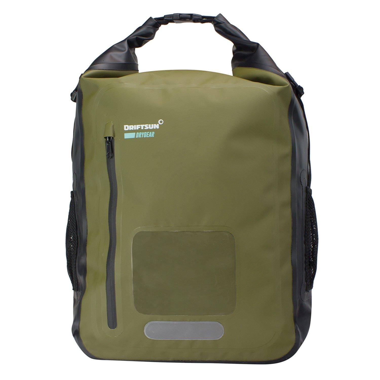 Driftsun Waterproof Backpack | 20L and 40L | Roll-Top Dry Bag Backpack | Heavy Duty Quality | 100% Waterproof