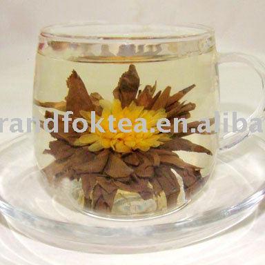 Mini blooming tea GLF-S06 Chinese Yunnan black tea with Marigold flower - 4uTea | 4uTea.com