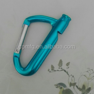 Make Your Own Logo Key Chain Parts, Wholesale Souvenir Custom Keychain Carabiner Whistle 1207293