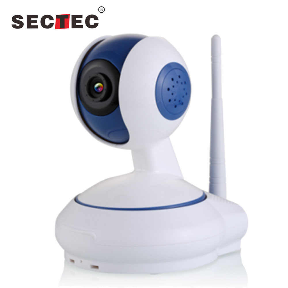 Remote Pan/Tilt control home ip camera Low illumination hd 960P home security system