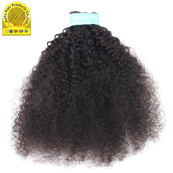 4B 4C Afro Kinky Curly Clip Ins Human Hair Extension