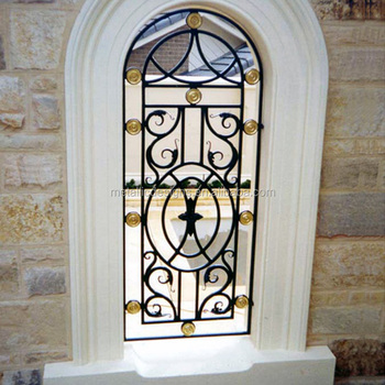 Top Round Steel Window Grill Design Buy Top Round Steel Window