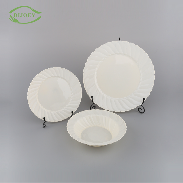 Direct factory round wholesale ps creative cheap plastic disposable plates and bowls & China Disposable Plates Bowls Wholesale ?? - Alibaba