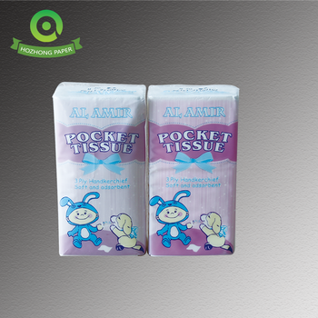 promotional wholesale price facial tissue pocket packs
