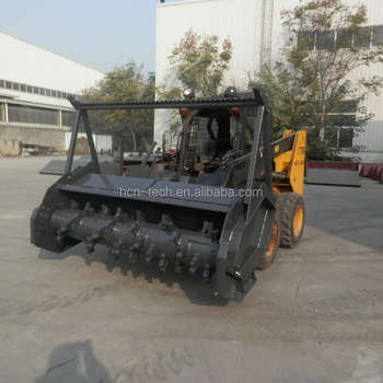 Hot Sell Brand New 0513 Series Forestry Mulcher For Mini Skid Steer Loader  Used For Sale - Buy Forestry Mulcher For Mini Skid Steer Loader Used For