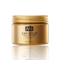OEM 24k Gold Facial Mask Anti-Wrinkle Moisturizing Peel off Mask 24 Gold Facial Mask