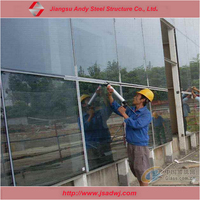 Modern commercial building wall curtain